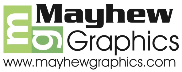 mayhew graphics logo for white