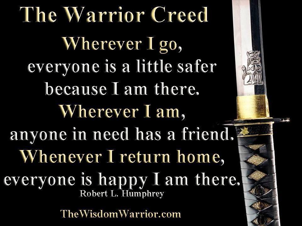 The Warrior Creed Master Jonathan Field