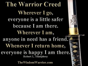 cobourg tae kwon do warrior creed