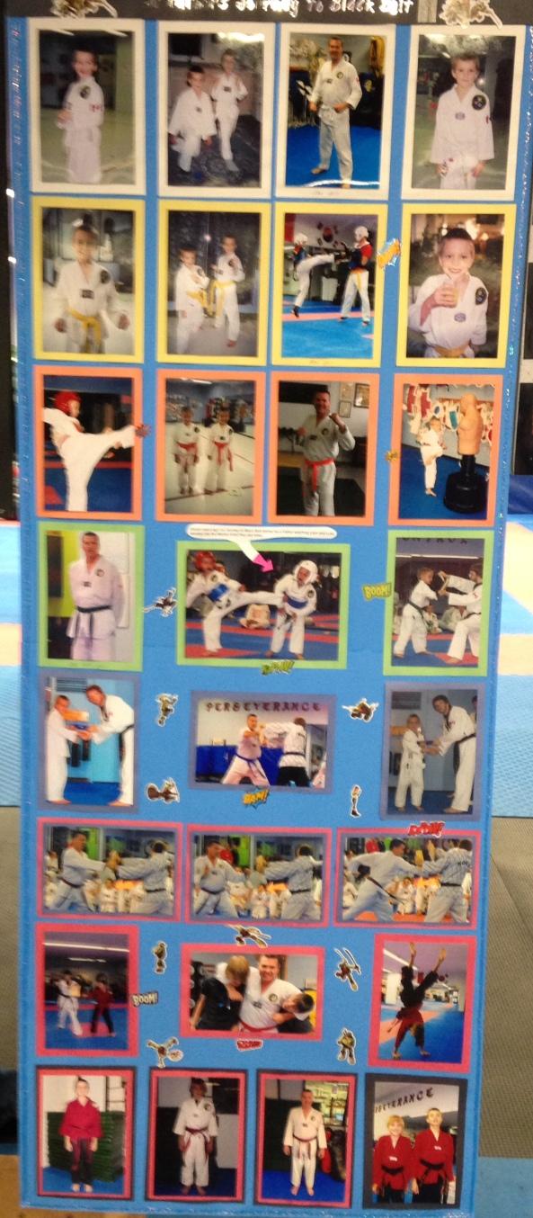 ian black belt poster cobourg tae kwon do