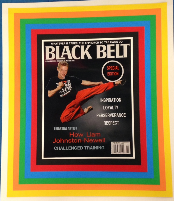 liam black belt poster cobourg tae kwon do