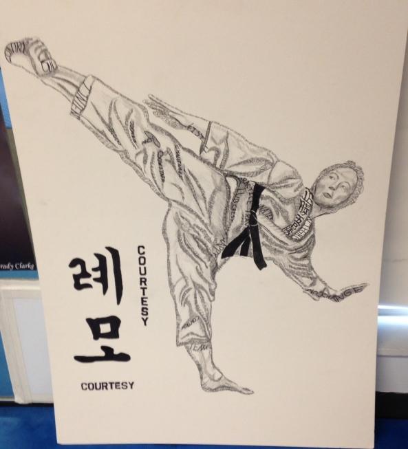 liams black belt poster cobourg tae kwon do