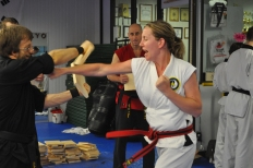 Taekwondo self defense abby sue elder cobourg tae kwon do