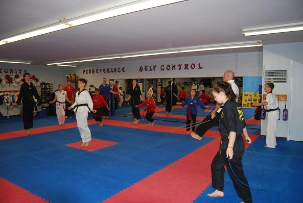 1 black belt grading 2014 cobourg tae kwon do