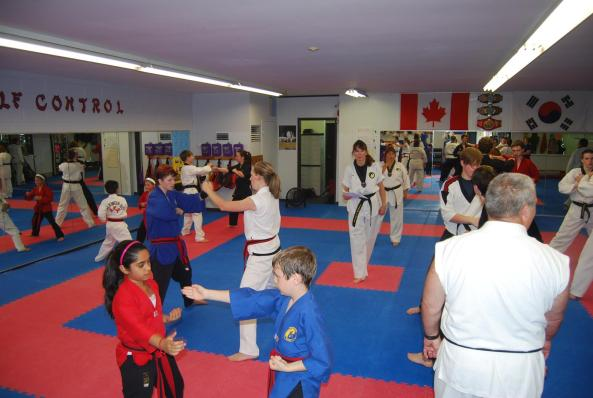 7 black belt grading 2014 cobourg tae kwon do