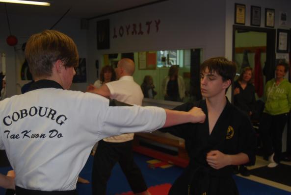 8 black belt grading 2014 cobourg tae kwon do