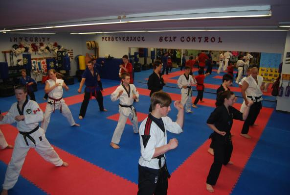 30 black belt grading 2014 cobourg tae kwon do