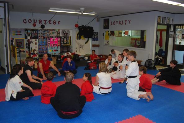 0214 black belt grading 2014 cobourg tae kwon do