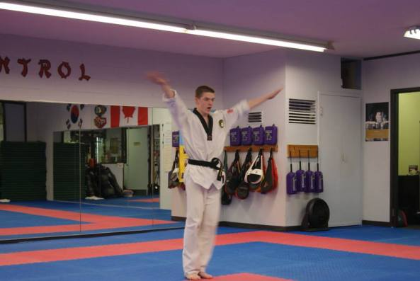 two 2014 black belt grading cobourg tae kwon do