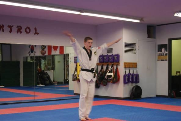 two 2014 black belt grading cobourg tae kwon do