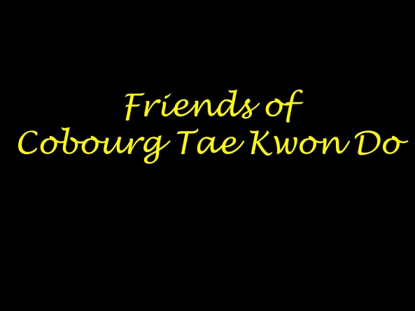 friends of cobourg tkd