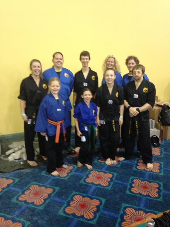 2014 TEAM WOLVERINE AT US OPEN Cobourg Tae Kwon Do