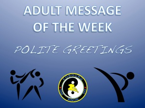 cobourg tae kwon do polite greetings