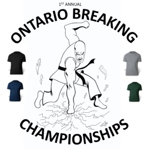 2015 ontario breaking t-shirt
