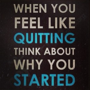 no-quitting