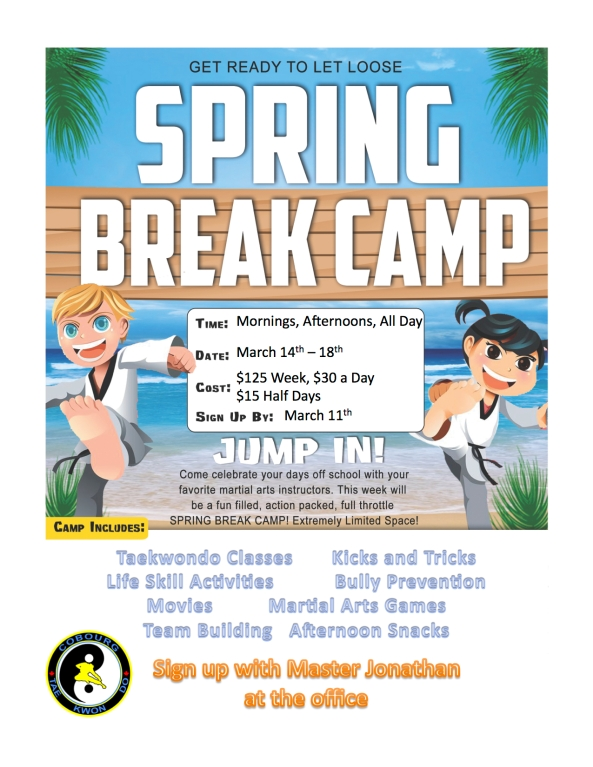 March Break Camp 2016